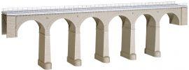 kibri 39724 Aachtal-Viadukt mit Eisbrecherpfeilern, eingleisig Bausatz Spur H0 online kaufen