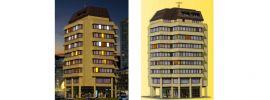 kibri 38218 Hochhaus mit Ladenpassage und Penthauswohnung | Inkl. Beleuchtung | Spur H0 online kaufen