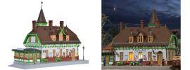 kibri 39509 Bahnhof Burg Spreewald inkl. Beleuchtung | Bausatz Spur H0 online kaufen