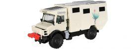kibri 14977 UNIMOG Wohnmobil Unicat Bausatz Spur H0 online kaufen