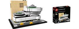 LEGO 21035 Guggenheim Museum New York   LEGO Architecture online kaufen