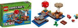 LEGO 21129 Die Pilzinsel | LEGO MINECRAFT online kaufen