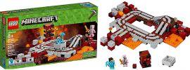 LEGO 21130 Die Nether Eisenbahn | LEGO MINECRAFT online kaufen