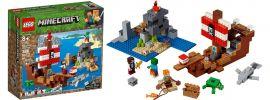 LEGO 21152 | Das Piratenschiff-Abenteuer | LEGO MINECRAFT online kaufen