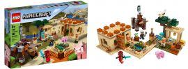 LEGO 21160 Der Illager Überfal | LEGO MINECRAFT online kaufen