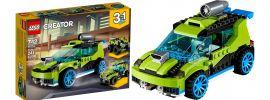 LEGO 31074 Raketen Rallyeflitzer |  LEGO CREATOR online kaufen