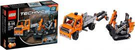 LEGO 42060 Straßenbaufahrzeuge | LEGO Technic online kaufen