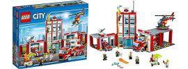 LEGO 60110 Große Feuerwehrstation   LEGO CITY online kaufen