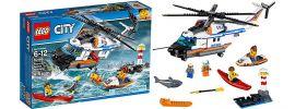 LEGO 60166 Seenot Rettungshubschrauber | LEGO CITY online kaufen