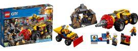LEGO 60186 Schweres Bohrgerät für den Bergbau |  LEGO CITY online kaufen