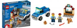 LEGO 60241 Polizeihundestaffel | LEGO CITY online kaufen