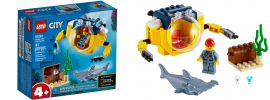 LEGO 60263 Mini U-Boot für Meeresforscher | LEGO CITY online kaufen