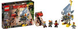LEGO 70629 Piranha Angriff | LEGO NINJAGO online kaufen