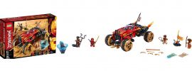 LEGO 70675  Katana 4x4 | LEGO NINJAGO online kaufen