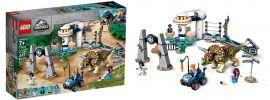 LEGO 75937 Jurassic World Triceratops Randale | LEGO JURASSIC WORLD online kaufen