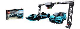 LEGO 76898 Jaguar I-Pace eTROPHY und Formula E Gen2 car | LEGO Speed Champions online kaufen