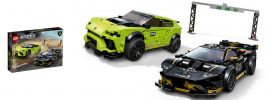 LEGO 76899 Lamborghini Urus ST-X und Huracan Super Trofeo EVO | LEGO Speed Champions online kaufen