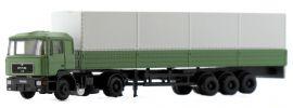 LEMKE LC4062 MAN F90 Pritsche mit Plane grün | LKW-Modell 1:160 online kaufen