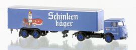 LEMKE LC3622 Büssing LU11-16 Sattelzug Schinkenhäger | Modell-Lkw 1:160 online kaufen