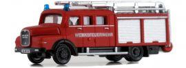 LEMKE LC4224 MAN LF 16 Werksfeuerwehr | Blaulichtmodell 1:160 online kaufen