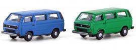 Lemke LC4330 VW T3 Bus blau | Auto-Modell Spur N 1:160 online kaufen