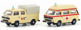 Lemke LC4332 VW T3 DRK Bus | Blaulicht-Modell Spur N 1:160 online kaufen