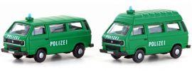 Lemke LC4333 VW T3 Polizei Bus | Blaulicht-Modell Spur N 1:160 online kaufen