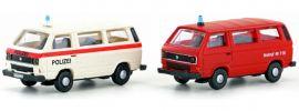 Lemke LC4335 VW T3 Set Polizei/FW (CH) | Auto-Modell Spur N 1:160 online kaufen