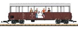 LGB 33350 Offener Güterwagen mit Band | SOEG | mfx/DCC Sound | Spur G online kaufen
