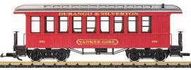 LGB 36808 Oldtimer-Personenwagen Yankee Girl D&S RR | Spur G online kaufen