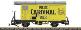 LGB 40284 Gedeckter Güterwagen GK Cardinal Bier MOB Spur G online kaufen
