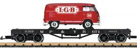 LGB 40597 Flachwagen mit VW T1 WP&Y RR | Spur G online kaufen