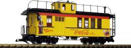 LGB 40757 Güterzug-Begleitwagen Coca Cola | Spur G online kaufen