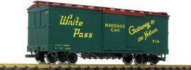 LGB 48675 Ged. Güterwagen White Pass Yukon | Spur G online kaufen