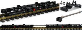 LGB 49181 Rollwagen-Set 2-tlg. HSB | Spur G online kaufen
