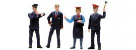 LGB 53002 Figuren-Set Bahnpersonal Schweiz | 4 Figuren | Spur G online kaufen
