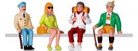 LGB 53007 Figuren-Set Touristen sitzend   4 Stück   Spur G online kaufen