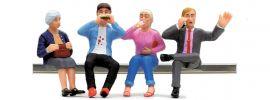 LGB 53008 Figuren-Set Speisewagenfiguren sitzend   4 Stück   Spur G online kaufen