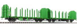 LILIPUT 235240 Rungenwagen-Einheit Laaps 565 Holztransport DB AG | DC | Spur H0 online kaufen