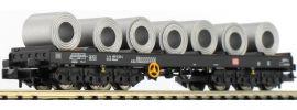 LILIPUT 265769 Transportwagen Sahmms 711 + 7 Blechcoils DB | Spur N online kaufen