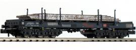 LILIPUT 265795 Coiltransportwagen Sahmms, grau | mit Stahlplatten | DB | Spur N online kaufen