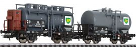 LILIPUT 230121 Kesselwagen-Set BP DB | DC | Spur H0 online kaufen