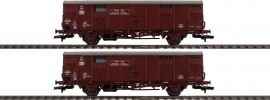 LILIPUT 230154 2-tlg. Set Fährbootwagen Hfs 312, gealtert DB | DC | Spur H0 online kaufen