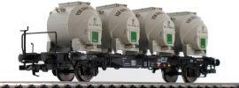 LILIPUT 235125 Behältertragwagen BTms 55 | DB | DC | Spur H0 online kaufen