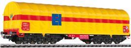 LILIPUT 235775 6-achsiger Transportwagen  gelbe Schiebeplane | Spur H0 online kaufen