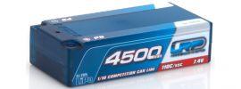 LRP 430236 LiPo Akku 4500mAh | Shorty P5 | 110C/55C | CCL Hardcase online kaufen