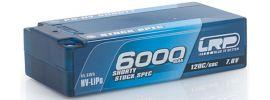 LRP 430255 LiPo Akku 6000mAh Graphene Shorty Stock Spec | 7.6V | 2S | 120C/60C | P5-HV online kaufen