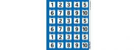 LRP 62428 LRP-Challenge Startnummern Set 2 online kaufen