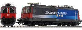 märklin 37306 E-Lok Re 4/4 II Zugkraft Aargau SBB | mfx+ Sound | Spur H0 online kaufen