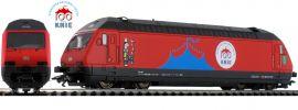 märklin 39468 E-Lok Re 460 100 Jahre Knie SBB | mfx+ Sound | Spur H0 online kaufen